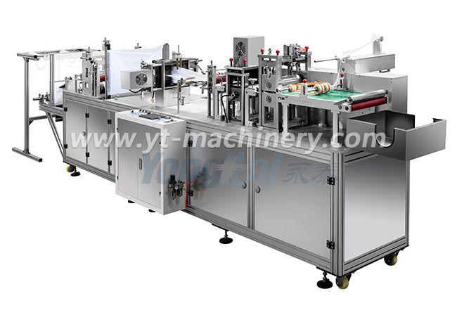 Машина для изготовления колпачков без ткани