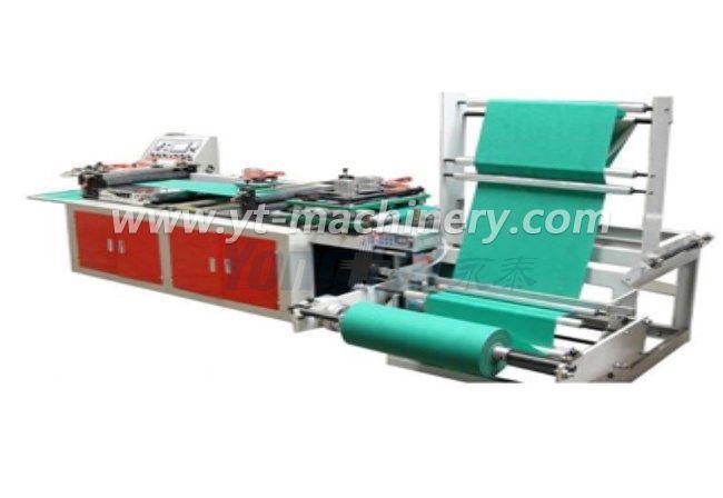 Машина для изготовления плетеной ткани без ткани