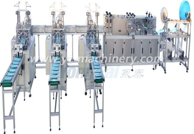 Высокоскоростная машина для изготовления масок (1 + 3)