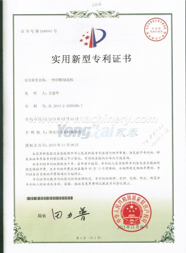 Certificado de patente 3